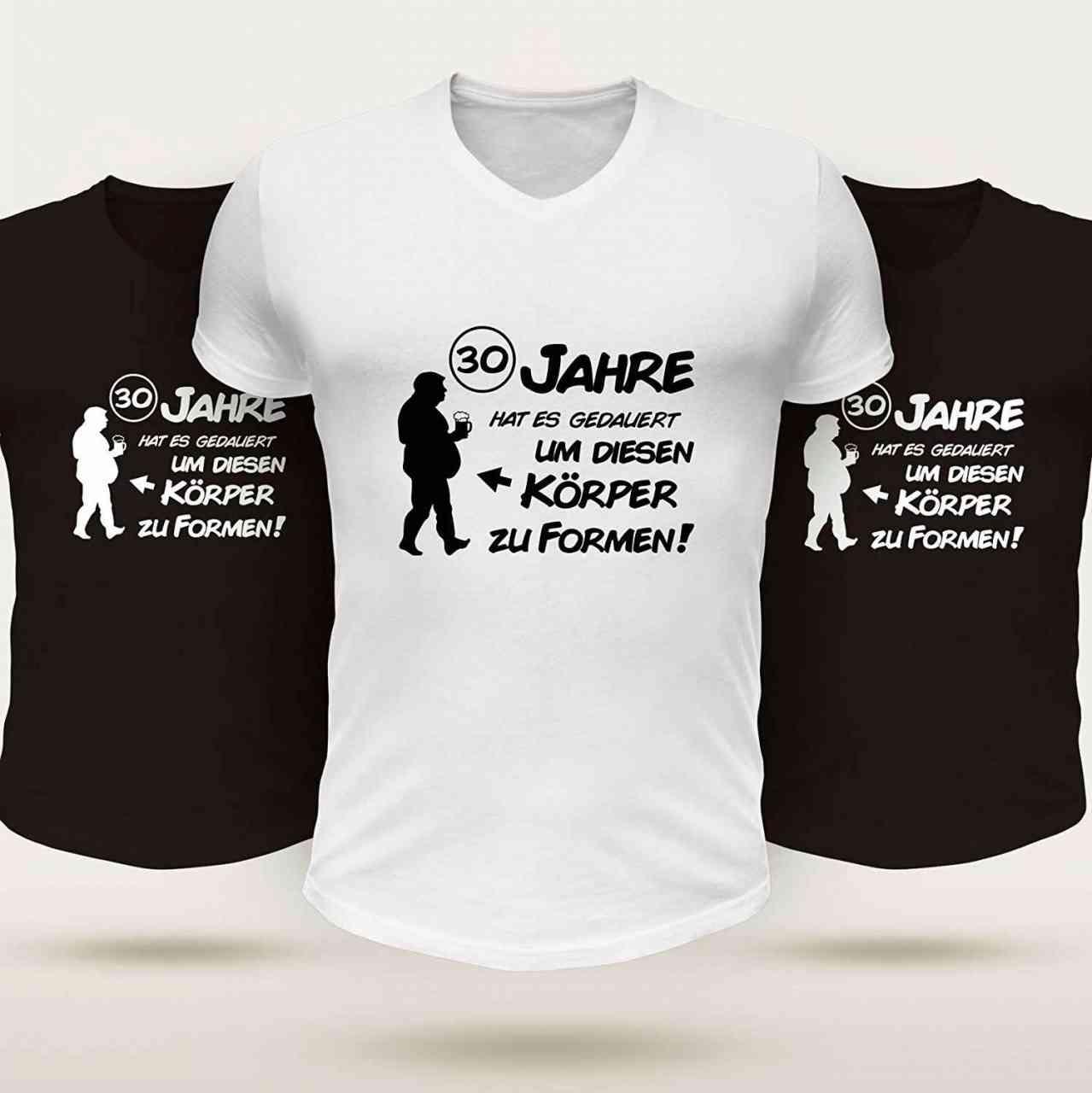 30 Jahre T-Shirt Lustig | Männer oder Frauen (Unisex)