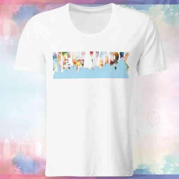 New York Skyline Shirt | New York Skyline T-Shirt | New York Skyline Tshirt