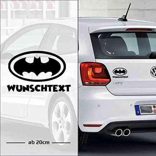 Batman Wunschtext   Baby - Name On Board   Wunschtext   Auto Aufkleber   coole   Baby On Board