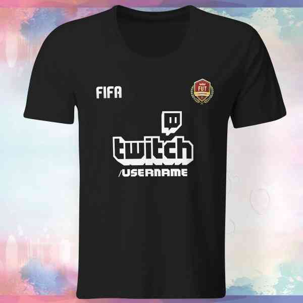 Fifa Twitch - Shirt mit Username | pickNstick