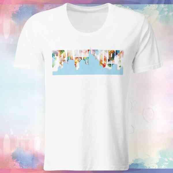 Frankfurt Skyline Shirt   Frankfurt Skyline T-Shirt   Frankfurt Skyline Tshirt