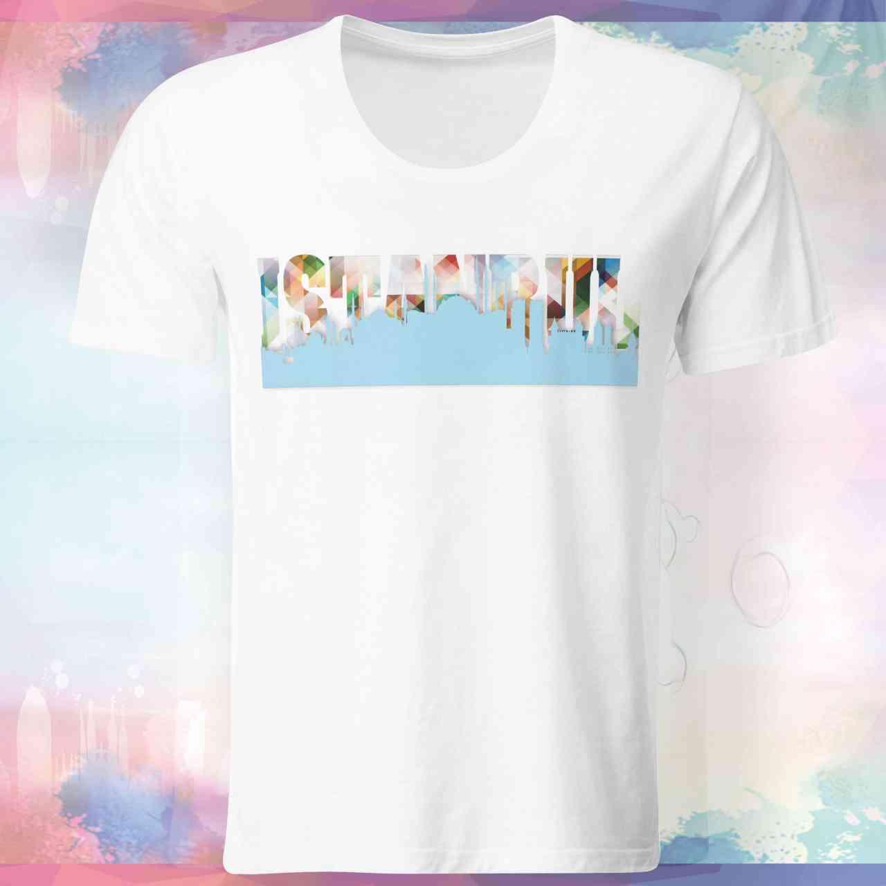 Istanbul Skyline Shirt | Istanbul Skyline T-Shirt | Istanbul Skyline Tshirt