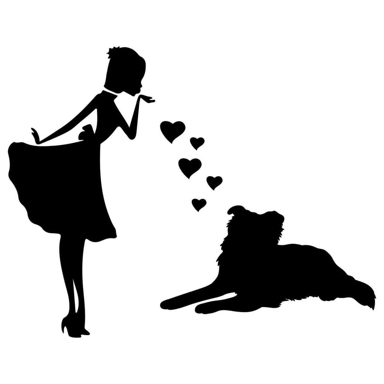 Prinzessin Dobermann Herz | Hund | Wunschtext | Autoaufkleber | Decal | Name