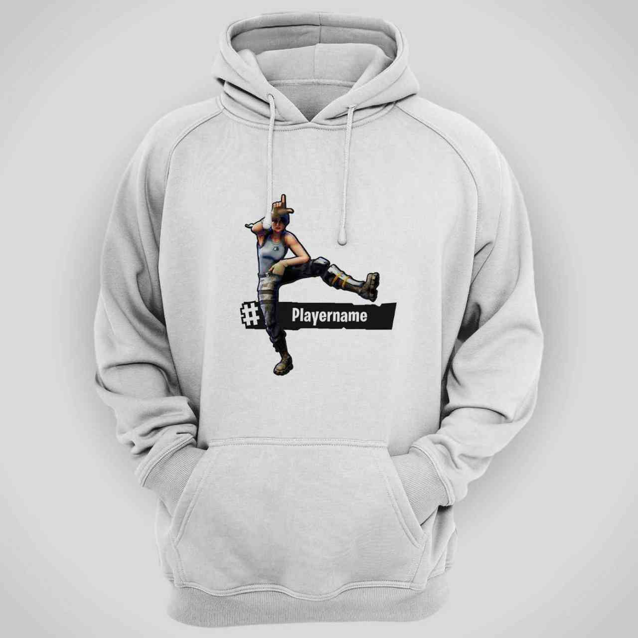 Fortnite Take The L Hoodie | mit Player-Name | Battle Royal | T-Shirt | Looser Fortnite