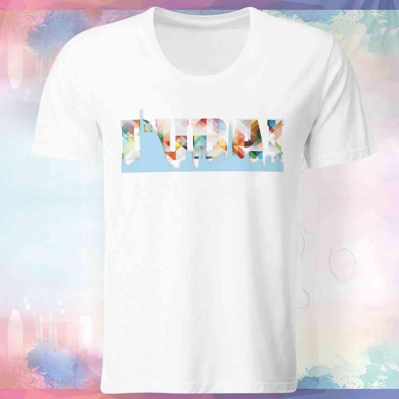 Dubai Skyline Shirt | Dubai Skyline T-Shirt | Dubau Skyline Tshirt