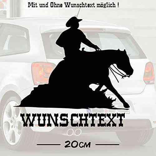 Sliding Stop #1 mit Wunschtext | Autoaufkleber | Pferde | Tiere | Wunschtext