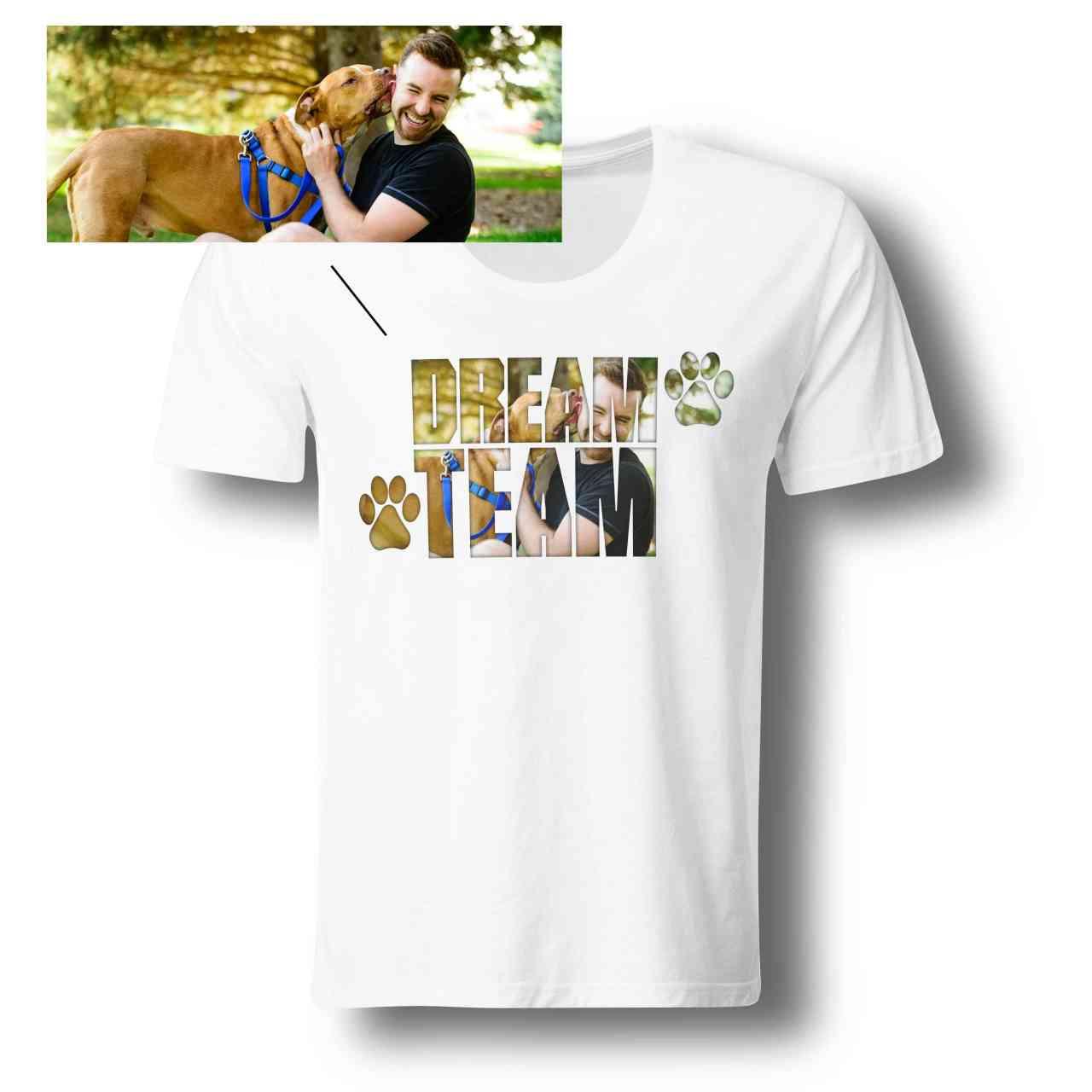 DREAM TEAM Foto Shirt 101% individuell