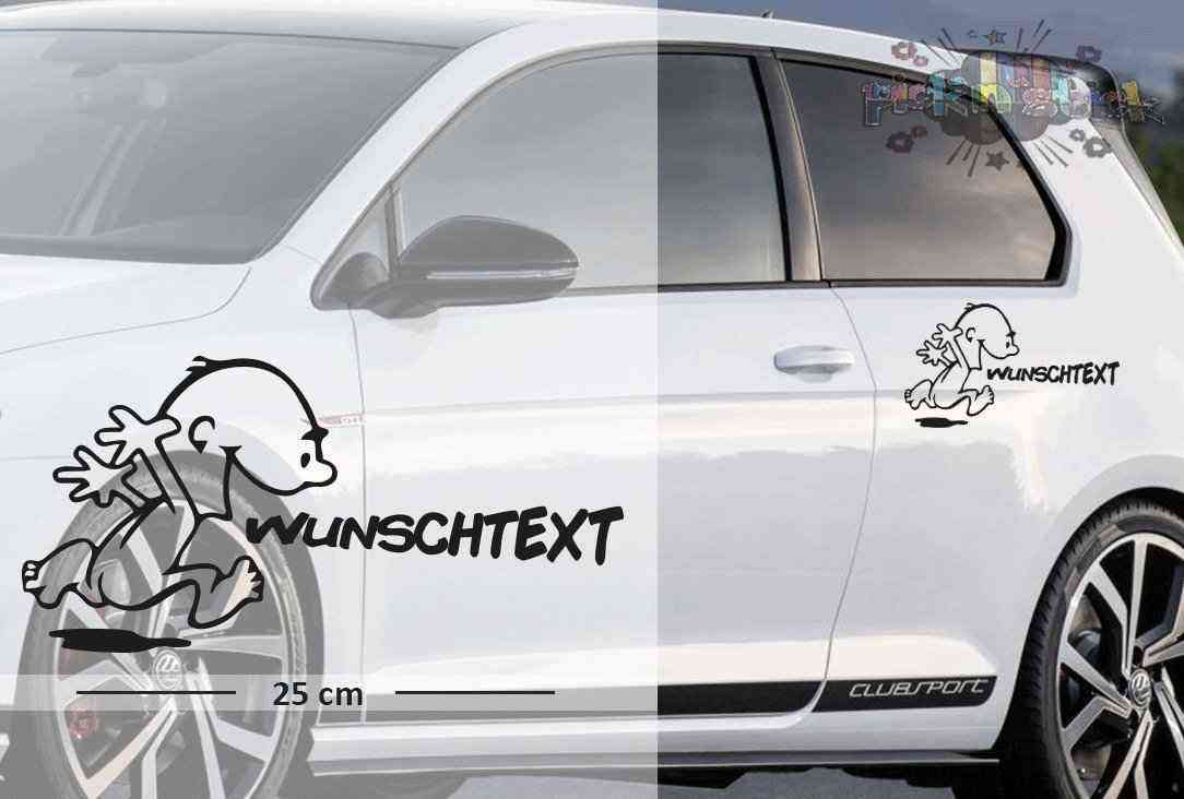 Bad Boy Frech #2 | Baby - Name On Board | Wunschtext | Autoaufkleber | Lustig | Baby On Board