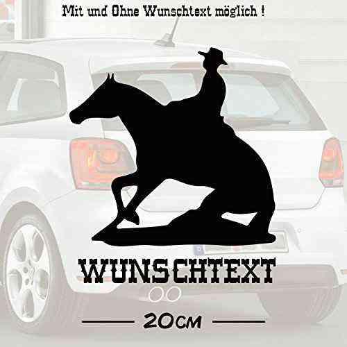 Sliding Stop #3 mit Wunschtext | Autoaufkleber | Pferde | Tiere | Wunschtext