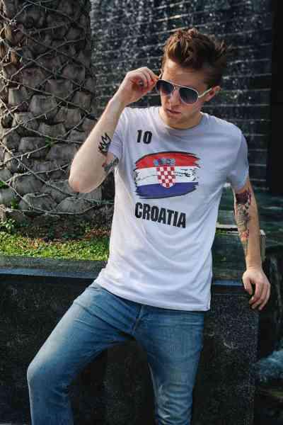 Croatia | Kroatien | Männer oder Frauen Trikot T - Shirt mit Wunsch Nummer + Wunsch Name | WM 2018