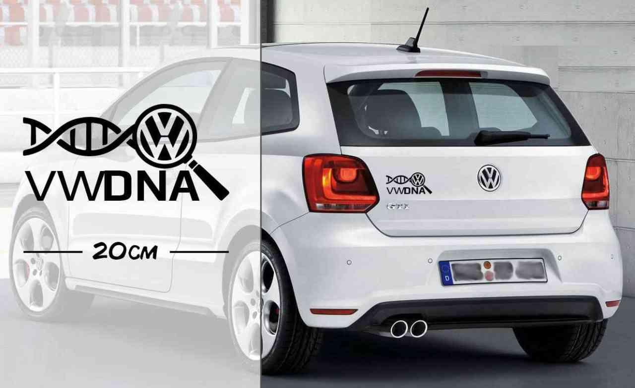 Tuning ist meine DNA | VW Tuner | DNA | Autoaufkleber | coole Aufkleber | lustige | car Decal