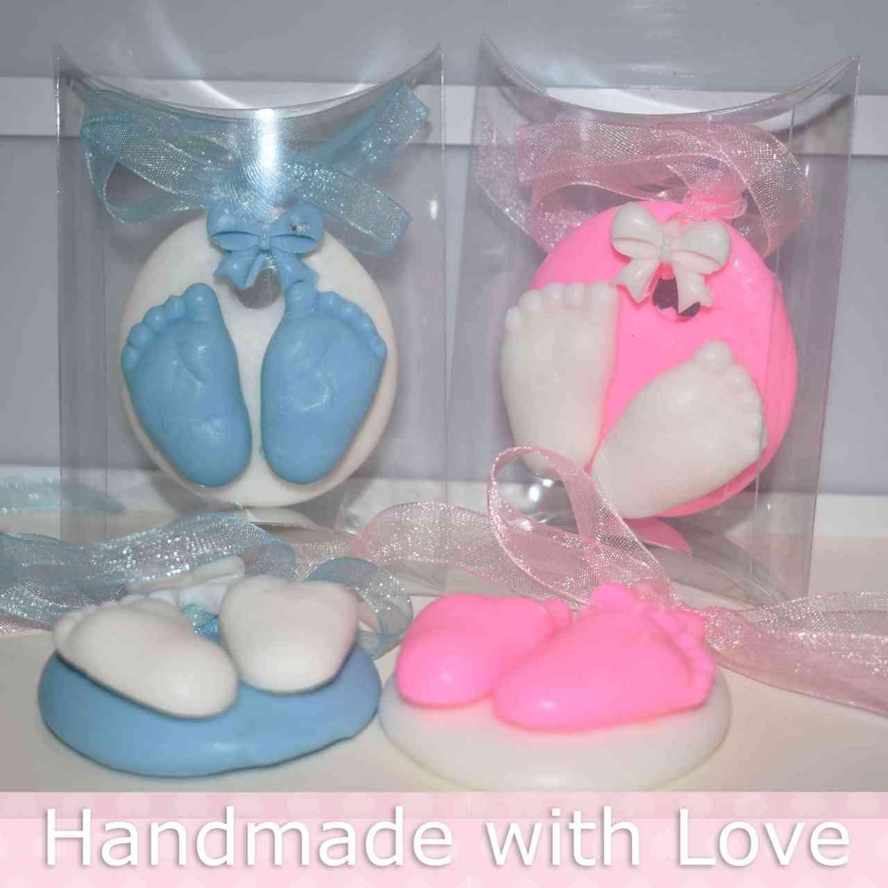 3D Baby Füße Geschenk | Gastgeschenk | Baby Shower | Babyshower geschenk | personalisierbar
