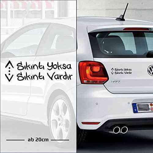 Cukur sıkıntı yoksa sıkıntı vardır   Autoaufkleber   Türk Dizi Cukur