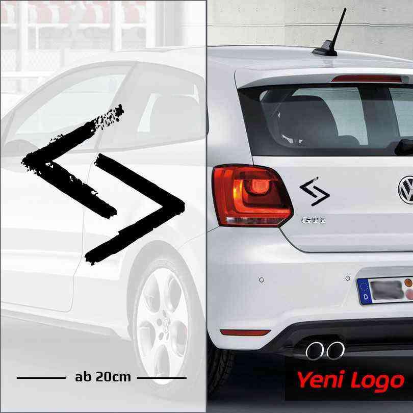 Cukur Yeni Logo Emblem | Autoaufkleber | Sticker | Aufkleber