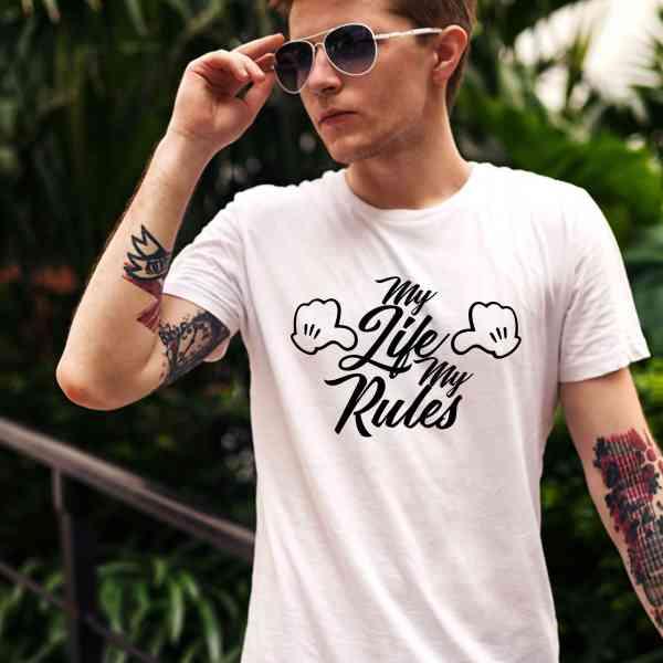 My Life My Rules | Mein Leben Meine Regel Shirt | Fun T-Shirt