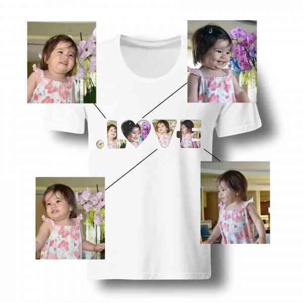 . L O V E Foto Shirt 101% individuell