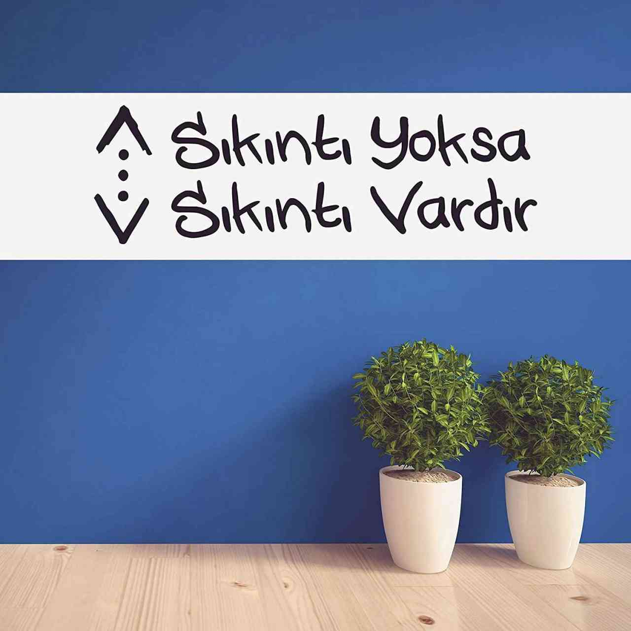 Cukur sıkıntı yoksa sıkıntı vardır Wandtattoo | Graffiti-Style | Türk Dizi Çukur