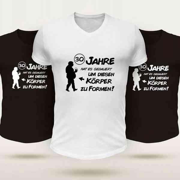 30 Jahre T-Shirt Lustig   Männer oder Frauen (Unisex)
