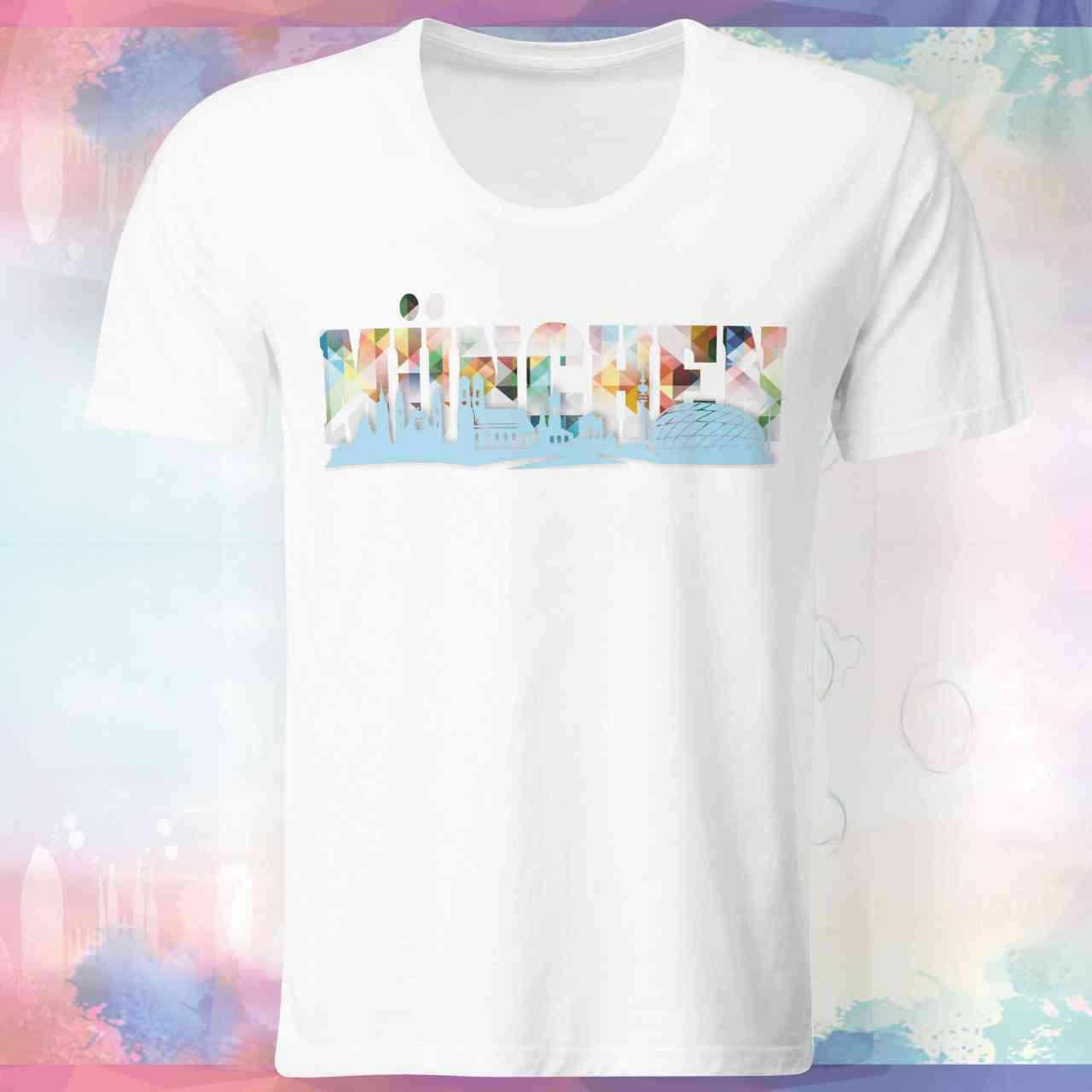 München Skyline Shirt | München Skyline T-Shirt | München Skyline Tshirt