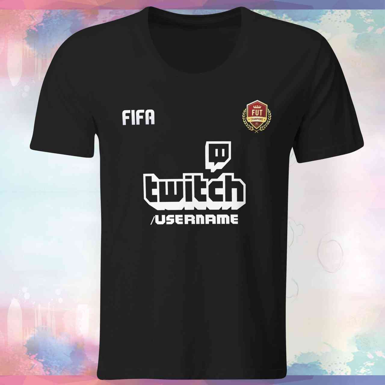 Fifa Twitch - Shirt mit Username | pickNstick