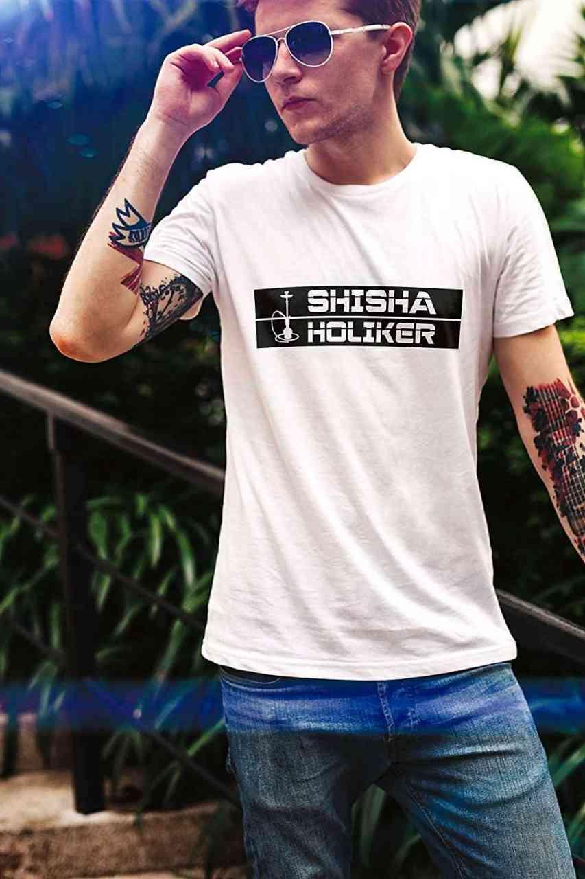 Shishaholiker - Shisha Holiker T-Shirt | Männer oder Frauen (Unisex)