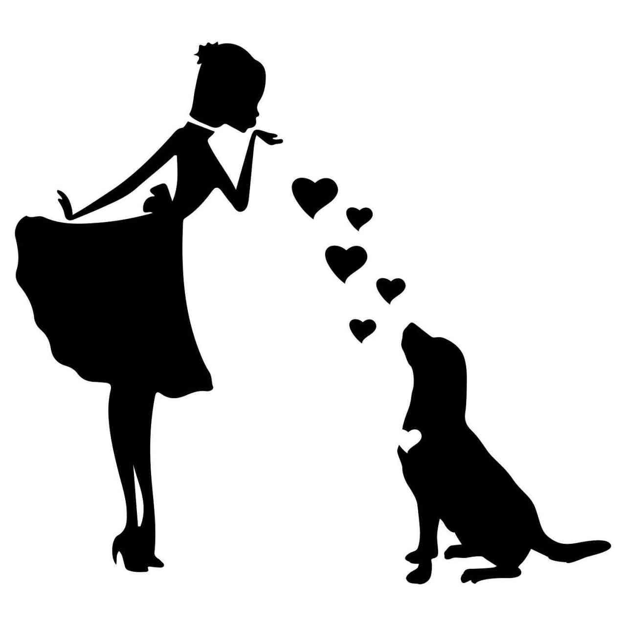 Prinzessin Labrador Retriever Herz | Hund | Wunschtext | Autoaufkleber | Decal