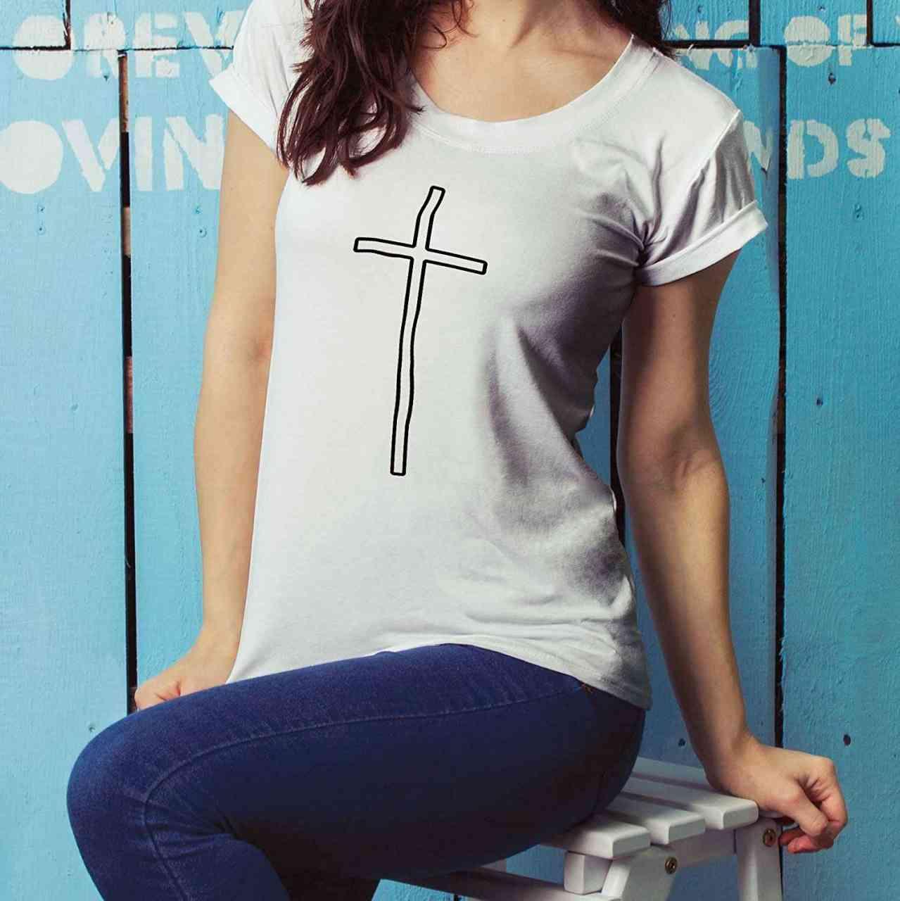 Kreuz T-Shirt | Männer oder Frauen (Unisex) 2018 New Design | picknstick